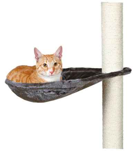 Cat Liegemulde für Kratzbaum Metallrahmen grau oder beige