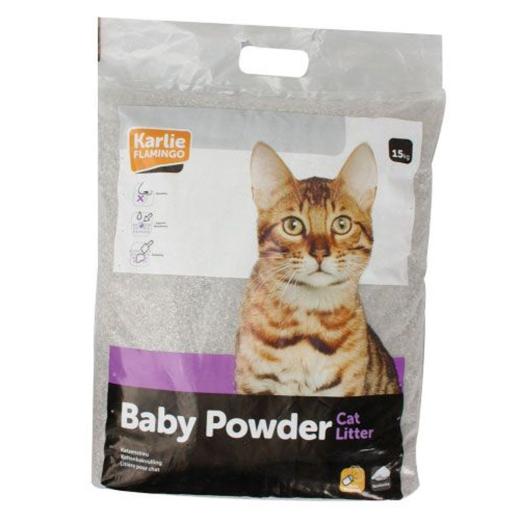 15KG Babypuderduft Katzenstreu SELBSTABHOLUNG