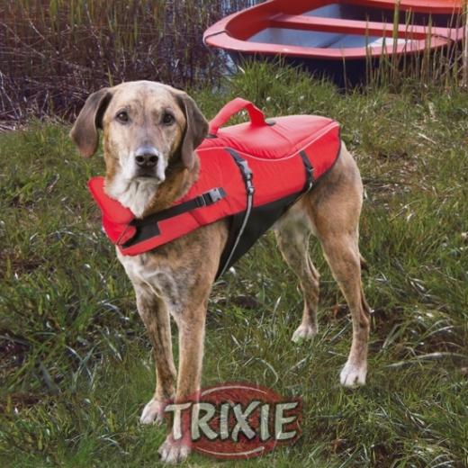 XS Schwimmweste rot für Hunde