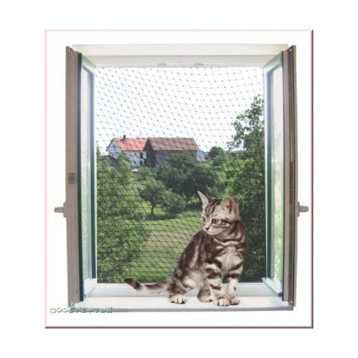 transparentes Katzenschutznetz 6x3m
