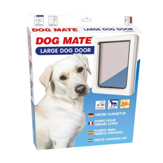 XL Dog Mate 216 weiß Hundeklappe
