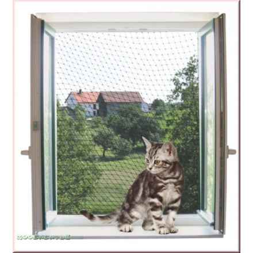 transparentes Katzenschutznetz 4x3m