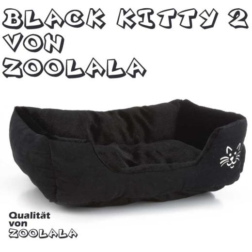 Black Kitty Katzenbett No2