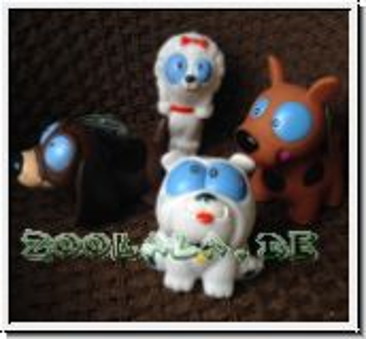 4 x Blue Eye Toy Hundespielzeug