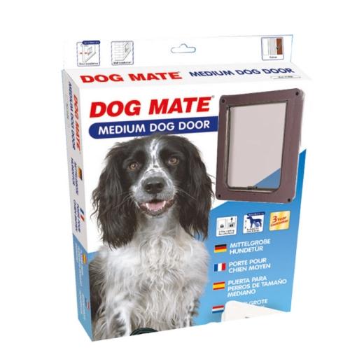 Hundetür Dog Mate 215 braun