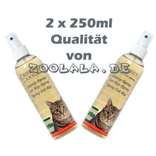 2 x 250ml Catnip Spray Perfect Care