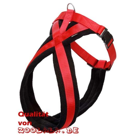 Cross Hunde-Geschirr rot 64-80cm