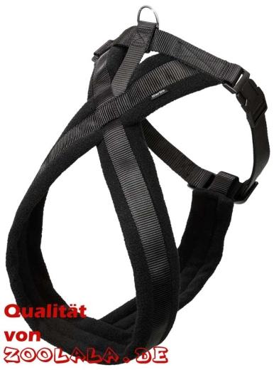 Cross Hunde-Geschirr schwarz 64-80cm