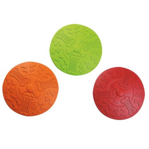 Gummi Frisbee ø: 22 cm