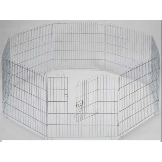 Freilaufgehege 80 x 80 cm für Kaninchen