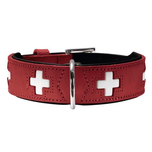 Hunter Swiss Halsband Gr.32 rot