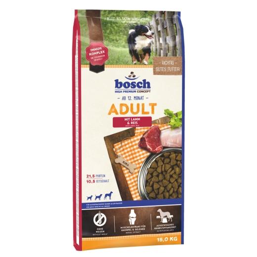 Bosch Adult Lamm & Reis 15 kg (versandkostenfrei)