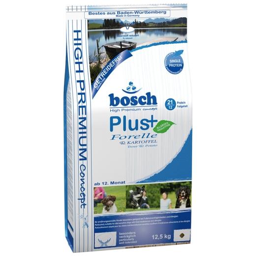 2 x 12,5kg Bosch PLUS Forelle & Kartoffel