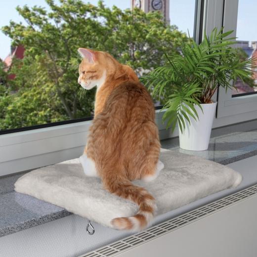 Sitzbrett für Katzen Fensterbank