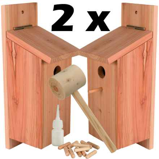 Angebot 2 x Bausatz Nistkasten