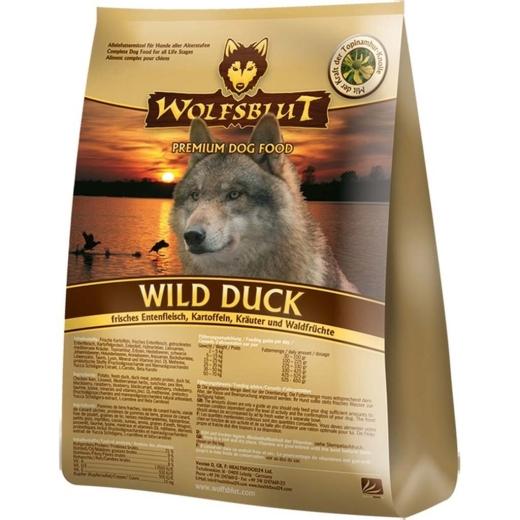 Wolfsblut Wild Duck Trockenfutter 15kg (versandkostenfrei)