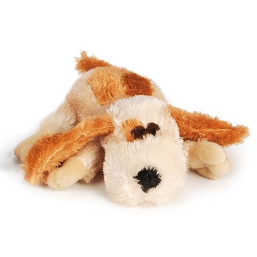 Hundespielzeug heller Plüschhund 25cm Plueschi