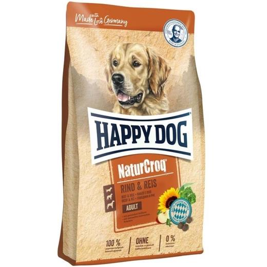 Aktion Happy Dog NaturCroq Rind & Reis 15kg (Versandkostenfrei)
