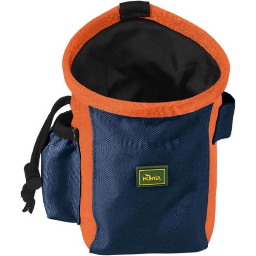 Hunter Gürteltasche Bugrino Standard M, grau-blau/orange