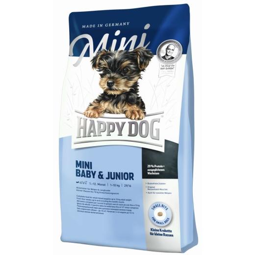 Happy Dog Supreme Mini Baby & Junior 4kg Welpenfutter