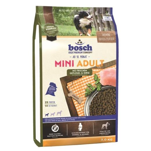 Bosch Mini Adult Geflügel & Hirse 15 kg (Versandkostenfrei)