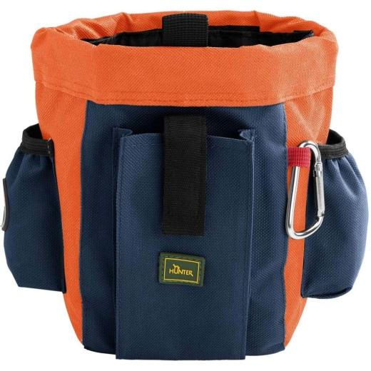 Gürteltasche Bugrino Profi grau-blau/orange