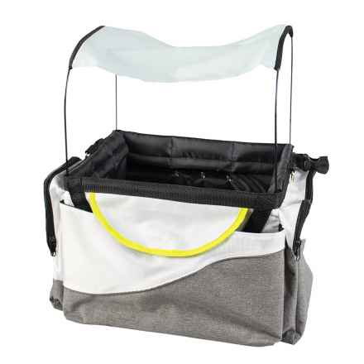 Biker-Bag Tasche / Korb für Lenker mit Markise