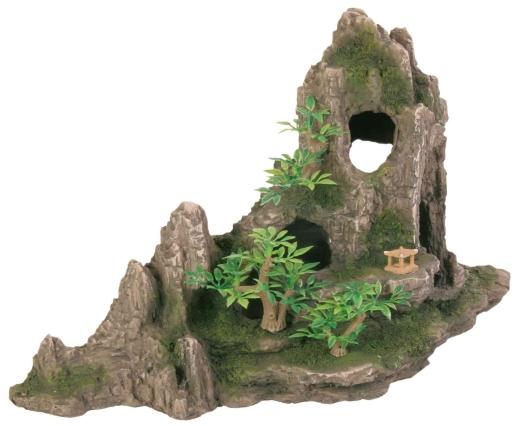 Grottenfels Barschhöhle Deko