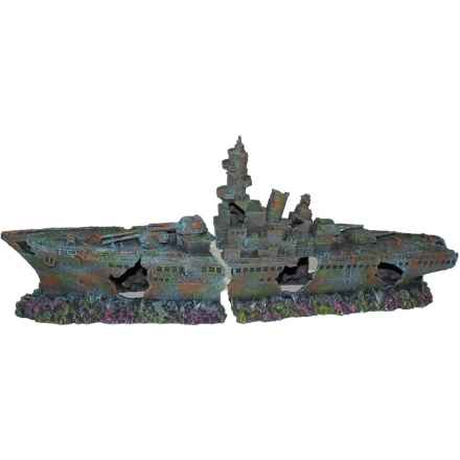 XXXL Deko Kriegsschiff Bismarck 69cm