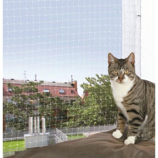 Katzen-Schutznetz, transparent