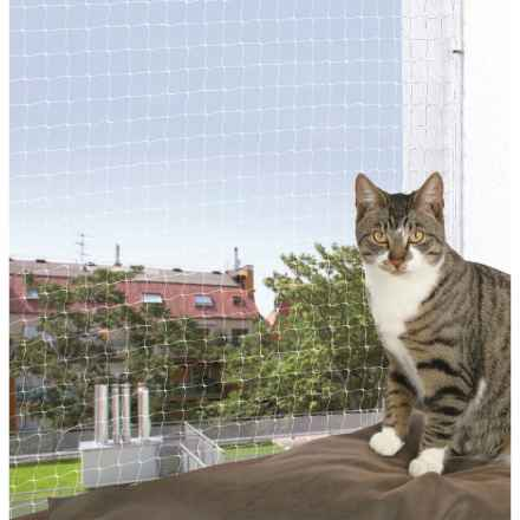 Schutznetz, transparent 4x3m