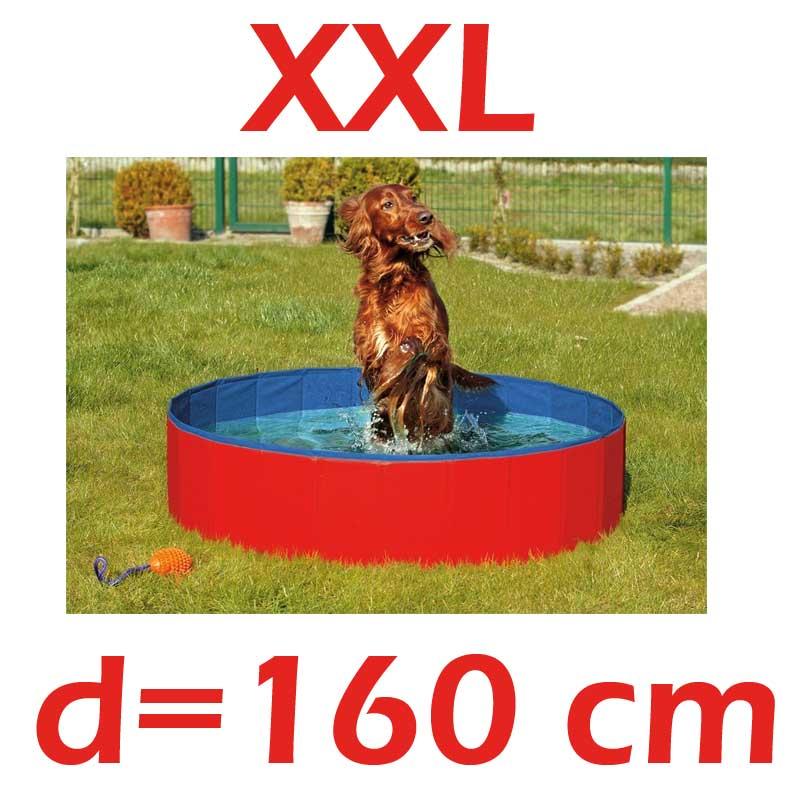 angebot xxl hundepool doggy pool 160 hunde pool neu ebay. Black Bedroom Furniture Sets. Home Design Ideas