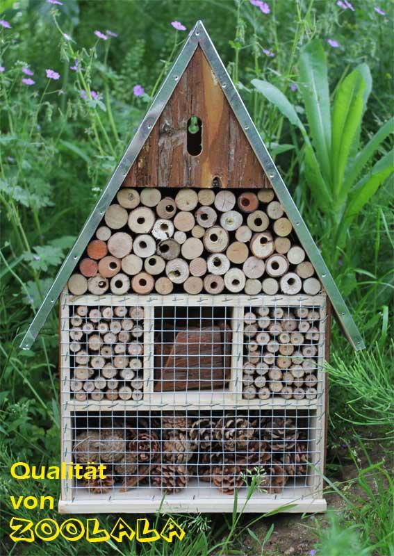 xxl insektenhaus insektenasyl bienen florfliege. Black Bedroom Furniture Sets. Home Design Ideas