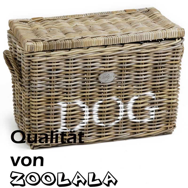 hochwertige dog aufbewahrungsbox aus rattan truhe box kiste hundespielzeug neu ebay. Black Bedroom Furniture Sets. Home Design Ideas