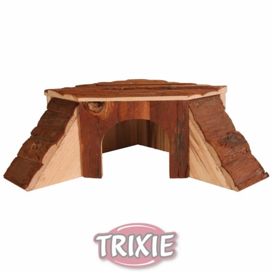 Деревянный домик для кролика или морской свинки - 1.