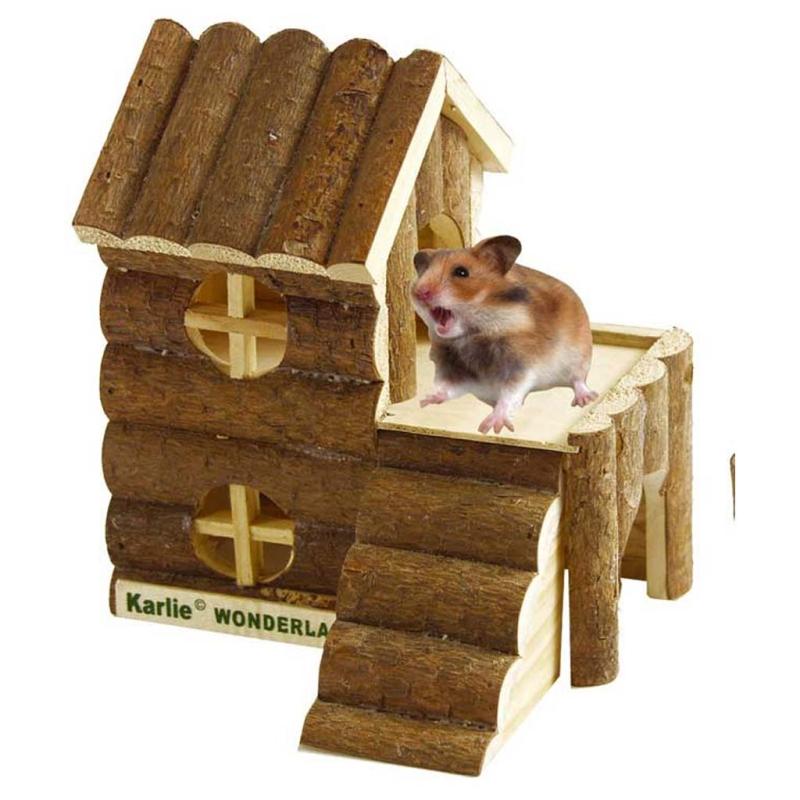 holzhaus f r hamster und m use. Black Bedroom Furniture Sets. Home Design Ideas