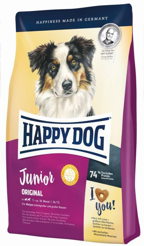 happy dog supreme young junior original 10kg. Black Bedroom Furniture Sets. Home Design Ideas
