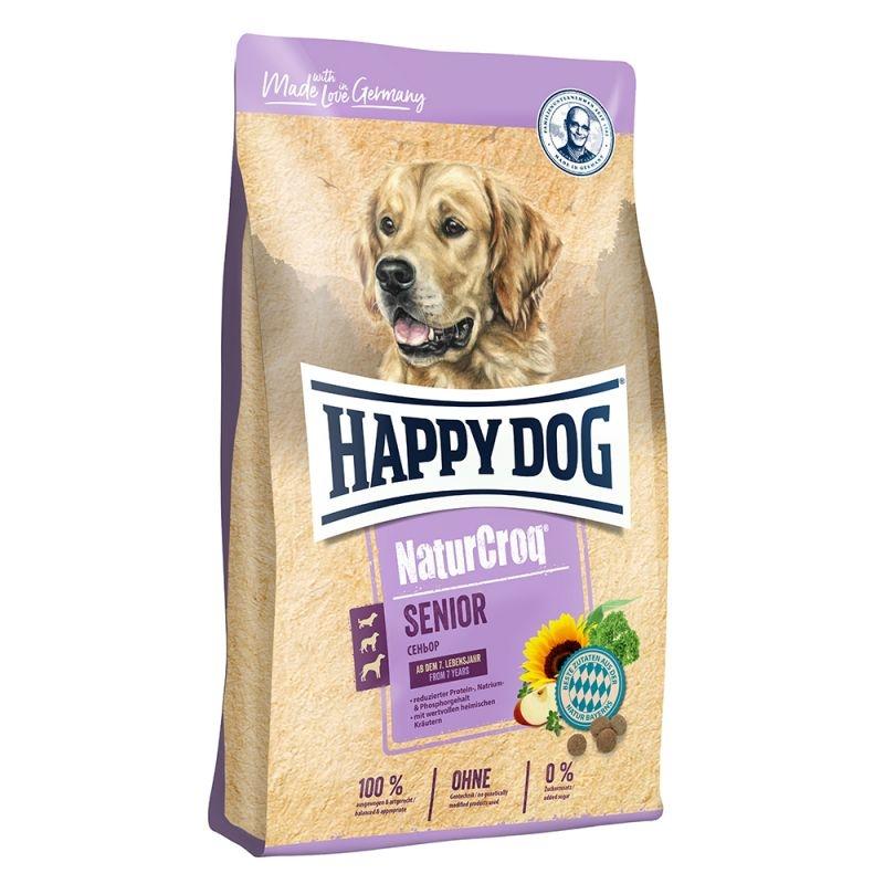happy dog naturcroq senior 15kg. Black Bedroom Furniture Sets. Home Design Ideas