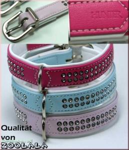 Hunter Halsband M pink