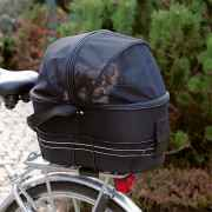 Fahrradtasche für Gepäckträger verschliessbar