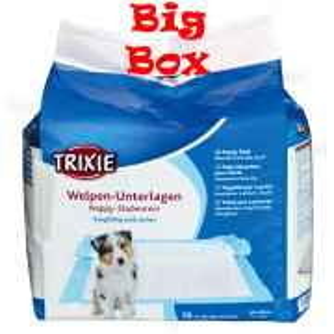 50 x Trixie Welpen-Unterlage Nappy-Stubenrein 60x40cm