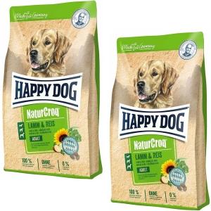 Aktion Happy Dog NaturCroq Lamm & Reis 15kg (Versandkostenfrei)
