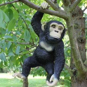 Deko Schimpanse hängend