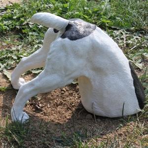 Deko Hund buddelt