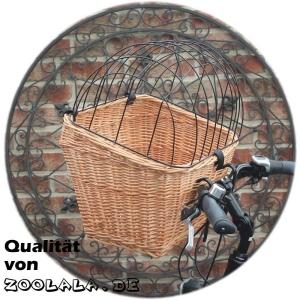 Fahrradkorb mit Gitter